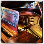 Newly refinished 1899 Wissner baby grand piano